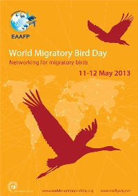 World Migratory Bird Day poster © EAAFP