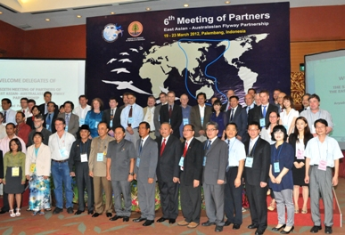 Partner Representatives at the 6th Meeting of Partners, March 2012 © 2012 EAAFP