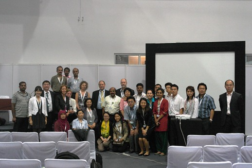 Group photo of the side event called East Asian Coastal Wetlands in Ecological Crisis © EAAFP