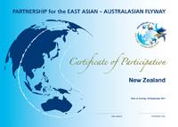 New Zealand FSN Certificate © 2011 EAAFP