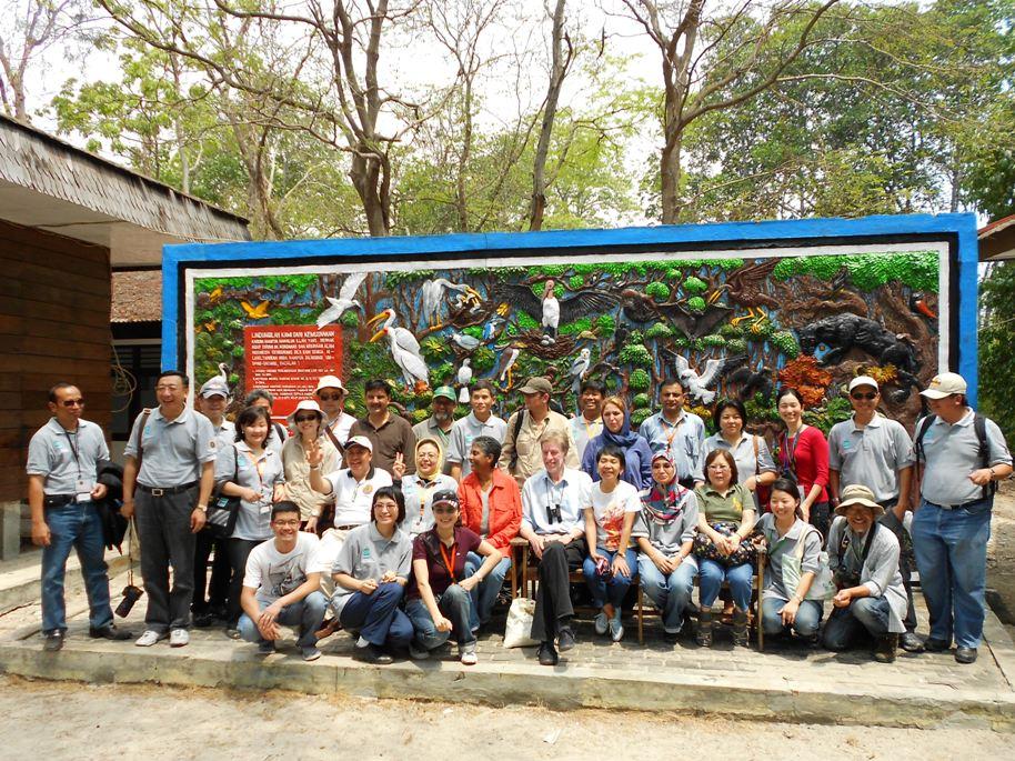 Representatives of Ramsar Asia Regional Meeting in Indonesia © Yeap Chin Aik