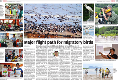 Press image to read the article from the local newspaper, Malaysia